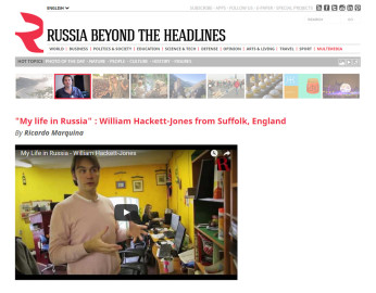 Russia Beyond the Headlines, 2012